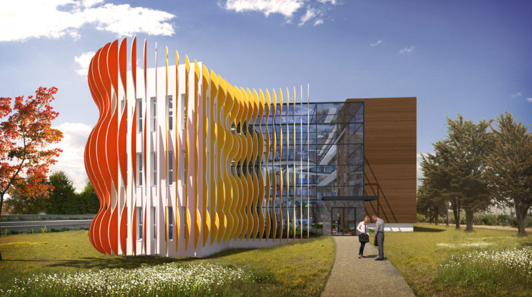 siege social panhard developpement Essonne agence archi factory