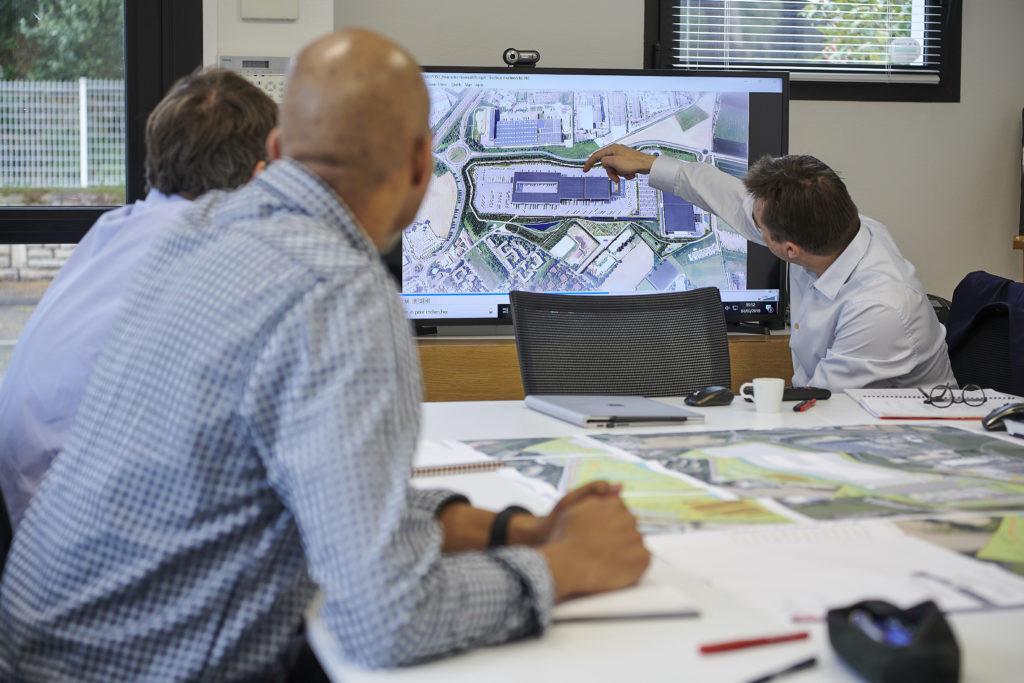 reunion equipe projet logistique archi factory