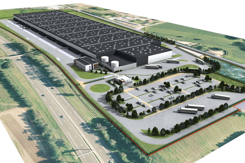 ARGAN - Bage la Ville (01) Plateforme logistique - Vue aérienne © Archi-Factory