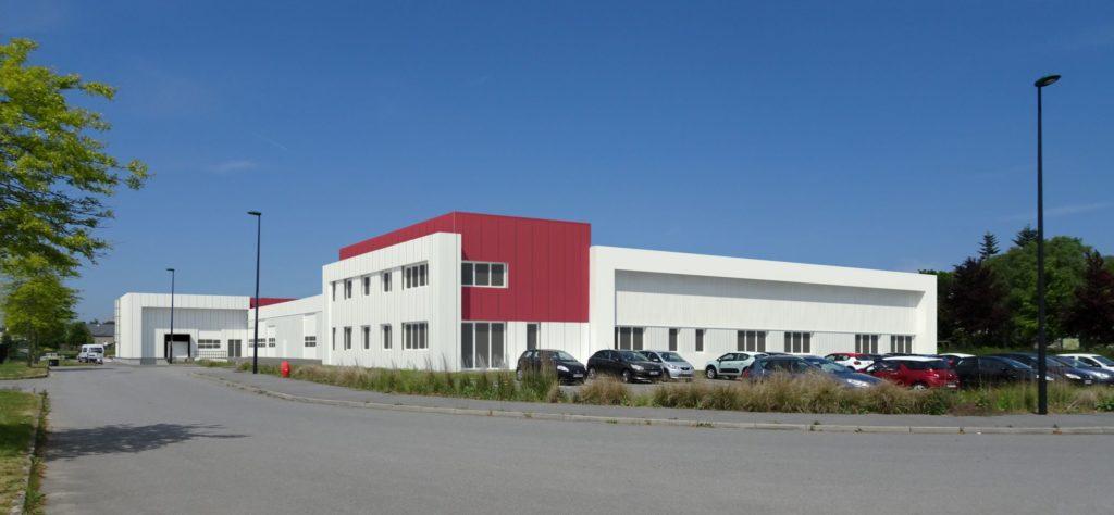 batiment activites extension autopuzz queven agence archi factory