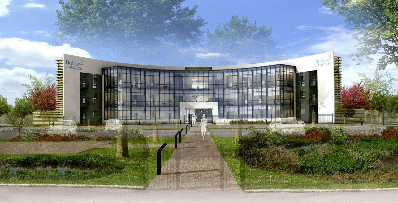 BOLLORE LOGISTICS - Bâtiments de bureaux - Saint Aignan Grandlieu (44) - Vue jour
