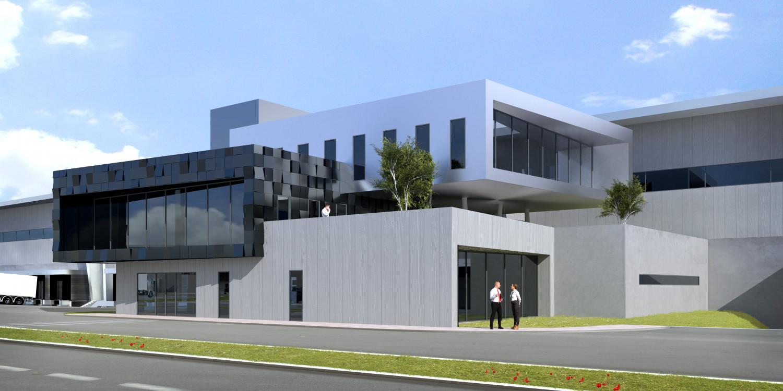 plateforme logistique goodman france agence archi factory