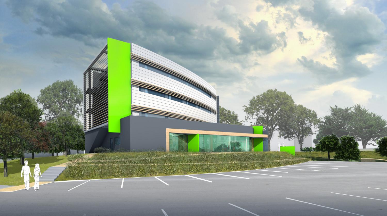 Immeuble tertiaire LE MAYEREAU - Caudan (56) - Programme mixte - © Archi-Factory