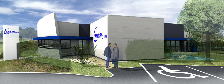 Laboratoire Epsilon Chimie - Guipavas (29) © Archi-Factory - Création des lieux de vie des entreprises