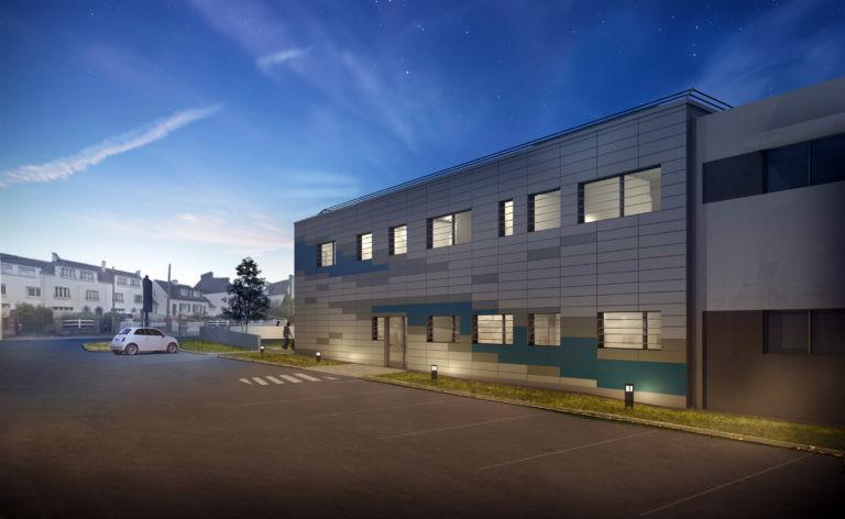laboratoire cytologie vue nuit agence archi factory
