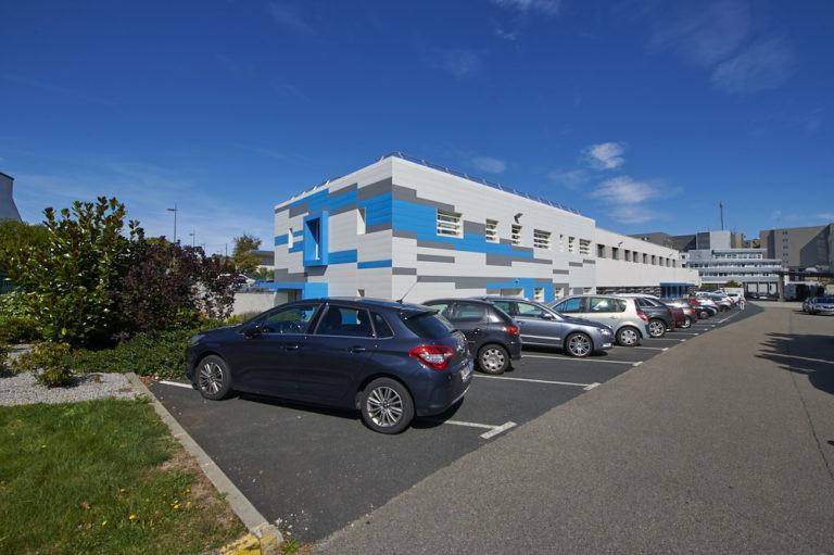 vue exterieure laboratoire cytologie quimper archi factory