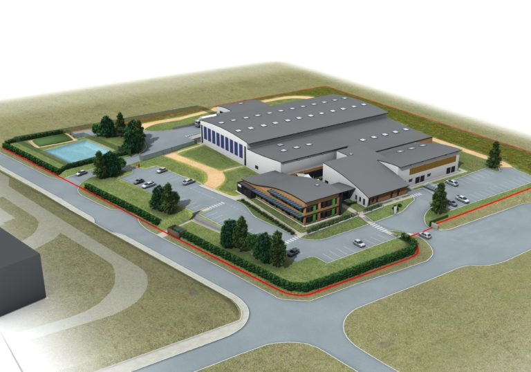 vue aerienne otb plouedern agence archi factory