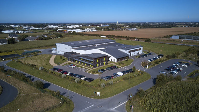 vue aerienne site otb plouedern archi factory agence architecture