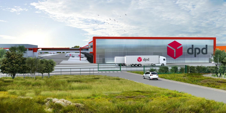 PANHARD DEVELOPPEMENT pour DPD - Messagerie logistique - Le Coudray Montceaux (91) © Archi-Factory