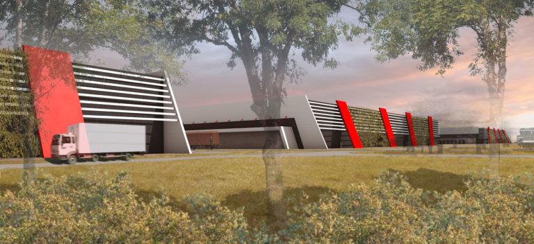 prologis plateforme logistique cabinet archi factory