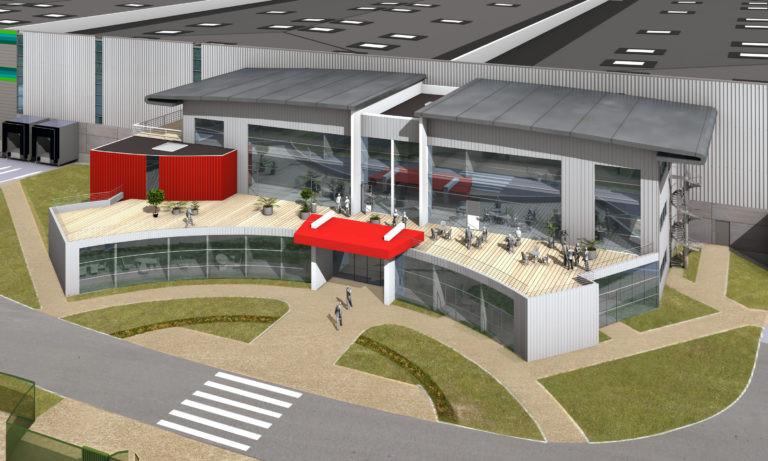prologis plateforme logistique agence archi factory