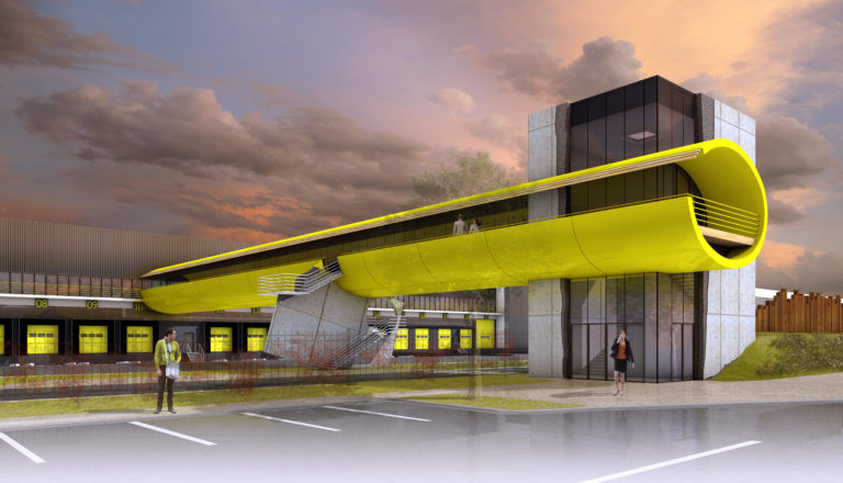 plateforme logistique goodman douvrin agence archi factory