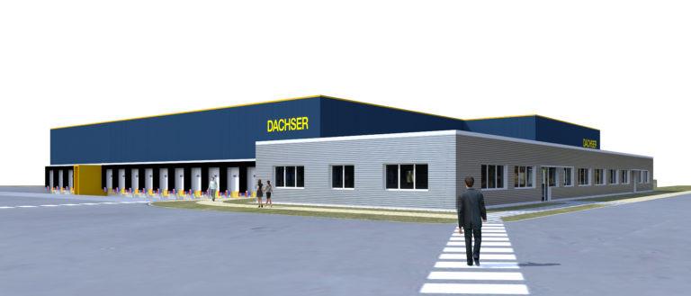 messagerie logistique dachser marcé agence archi factory