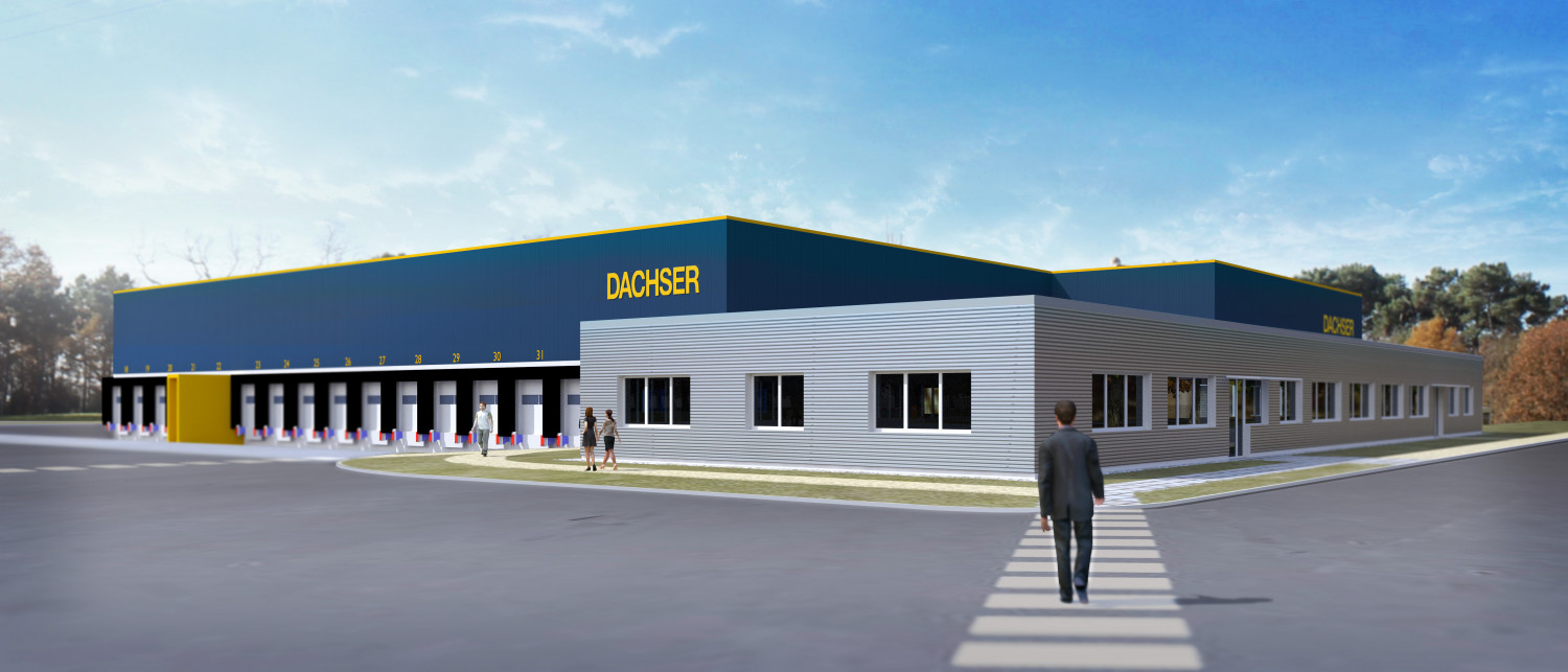 dachser messagerie logistique marce agence archi factory