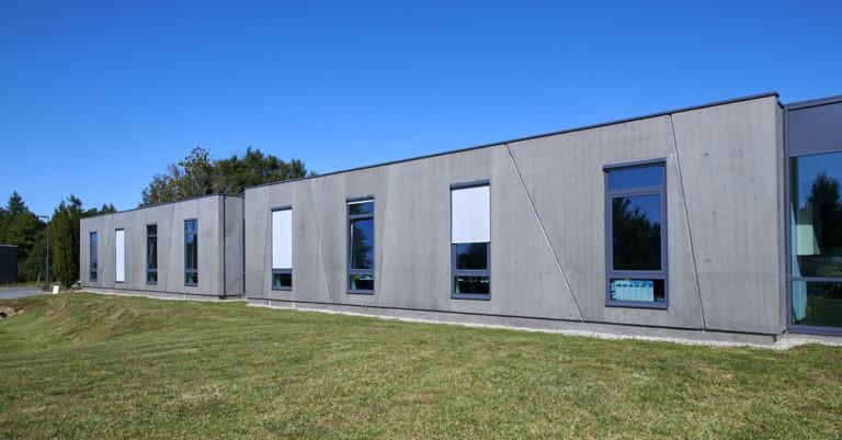 srb construction façade siege social hennebont archi factory