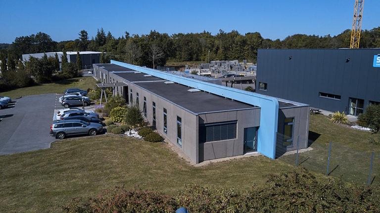 srb construction siege social vue aerienne hennebont archi factory