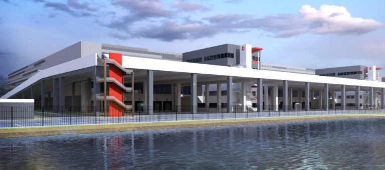 vailog genevilliers plateforme logistique agence archi factory