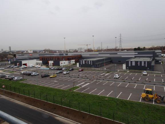vue ensemble vailog gennevilliers logistique archi factory