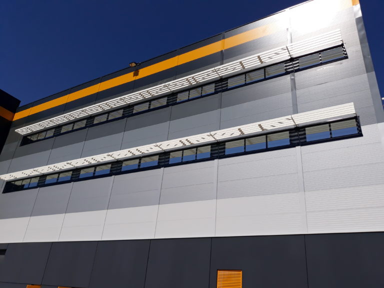 facade virto plateforme logistique cabinet archi factory