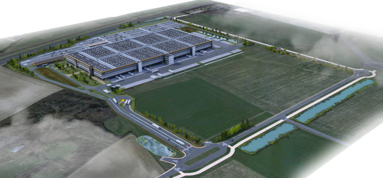 vue aerinne virtuo plateforme logistique agence archi factory