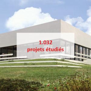projets logistiques tertiaires commences archi factory