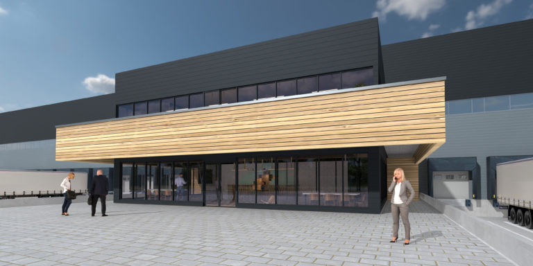 Barjane Réau Logistique façade