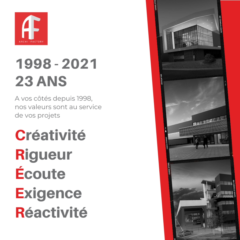 1998 - 2021 archi factory agence architecture