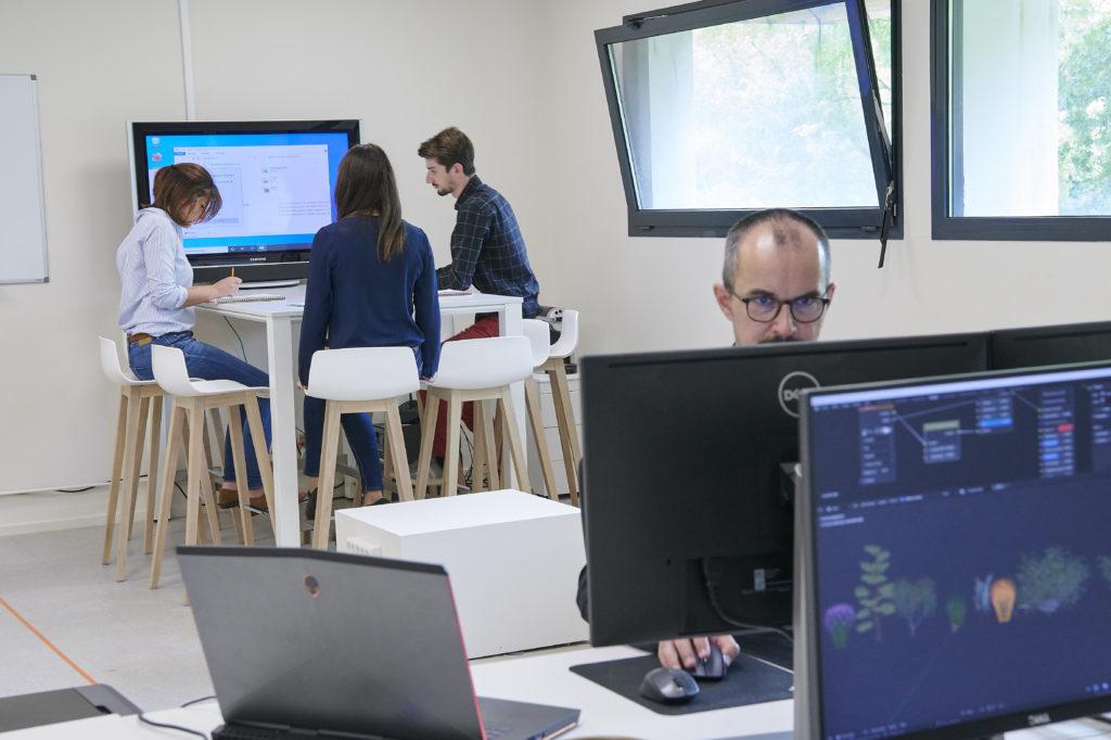 agence pix factory equipe creative 3d