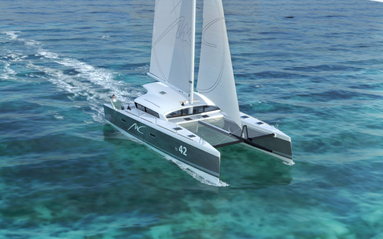 image 3d synthese catamaran marsaudon composites pix factory