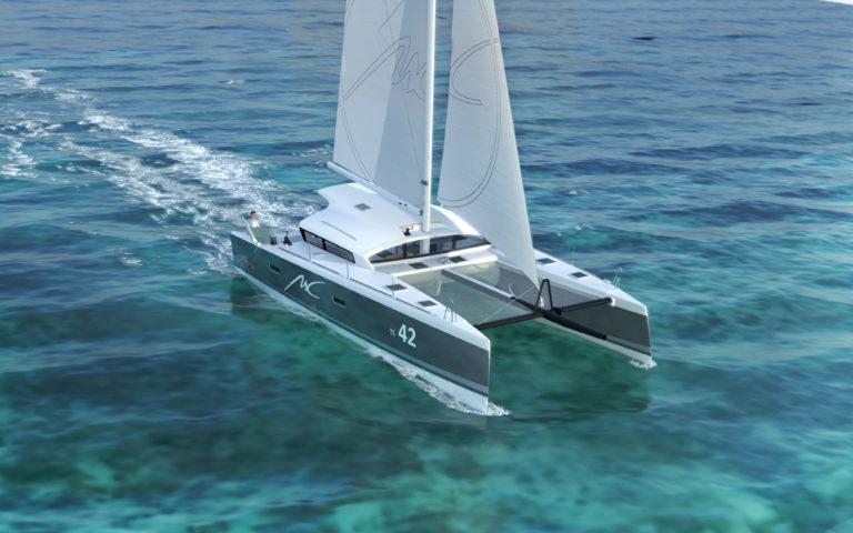 image 3d synthese catamaran marsaudon composites pix factory