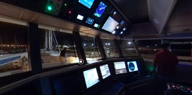 dolmen video 360 maison de la mer espace sciences