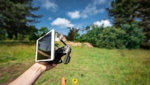photogrammetrie drone ouest bordure paysage